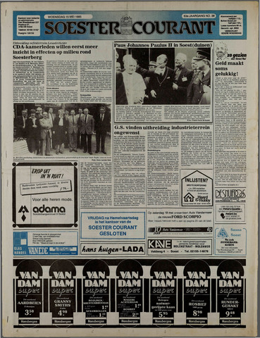 Soester Courant 1985-05-15