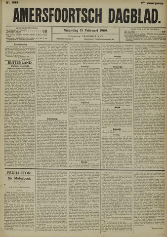 Amersfoortsch Dagblad 1909-02-15