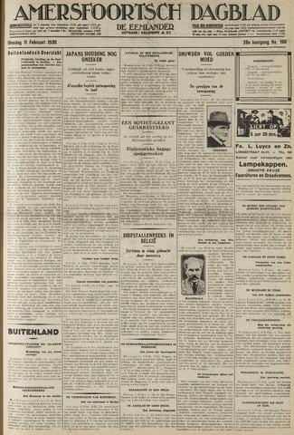 Amersfoortsch Dagblad / De Eemlander 1930-02-11
