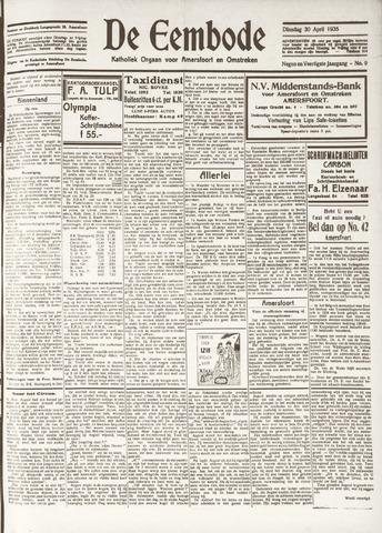 De Eembode 1935-04-30