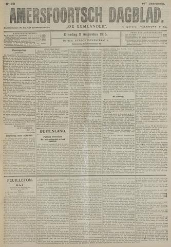 Amersfoortsch Dagblad / De Eemlander 1915-08-03