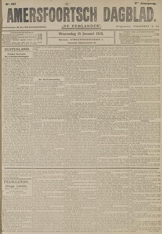 Amersfoortsch Dagblad / De Eemlander 1913-01-15