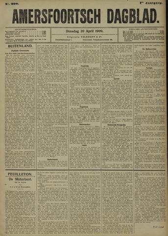 Amersfoortsch Dagblad 1909-04-20