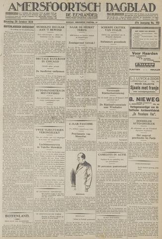 Amersfoortsch Dagblad / De Eemlander 1928-10-29