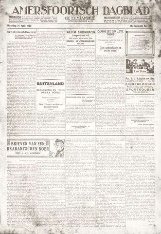 Amersfoortsch Dagblad / De Eemlander 1930-04-14