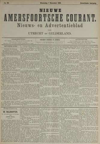 Nieuwe Amersfoortsche Courant 1888-11-07