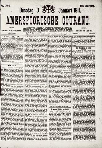 Amersfoortsche Courant 1911