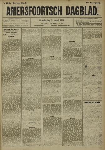 Amersfoortsch Dagblad 1910-04-21