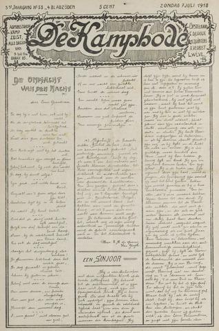 De Kampbode 1918-07-07