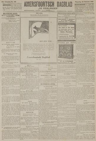 Amersfoortsch Dagblad / De Eemlander 1926-02-22