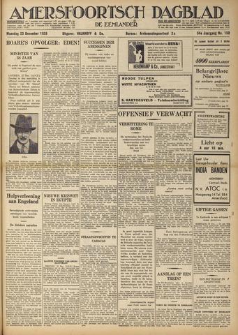 Amersfoortsch Dagblad / De Eemlander 1935-12-23
