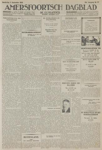 Amersfoortsch Dagblad / De Eemlander 1929-09-05