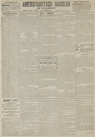 Amersfoortsch Dagblad / De Eemlander 1922-11-03