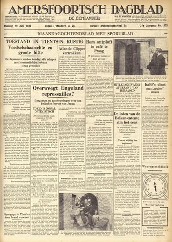 Amersfoortsch Dagblad / De Eemlander 1939-06-19