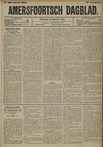 Amersfoortsch Dagblad 1907-01-26