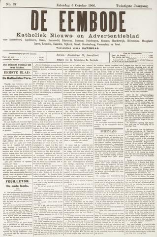De Eembode 1906-10-06