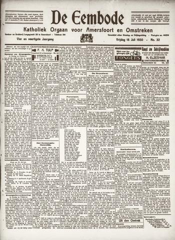 De Eembode 1930-07-18