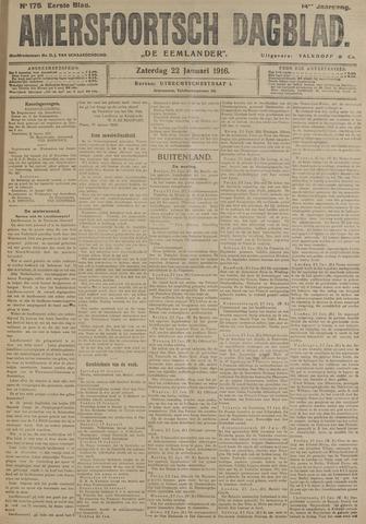 Amersfoortsch Dagblad / De Eemlander 1916-01-22