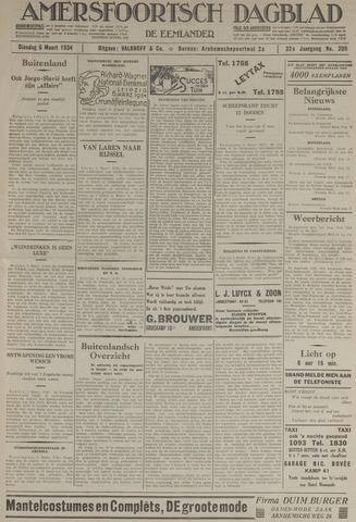 Amersfoortsch Dagblad / De Eemlander 1934-03-06