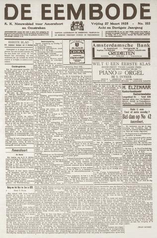 De Eembode 1925-03-27