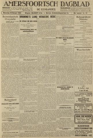 Amersfoortsch Dagblad / De Eemlander 1932-02-10