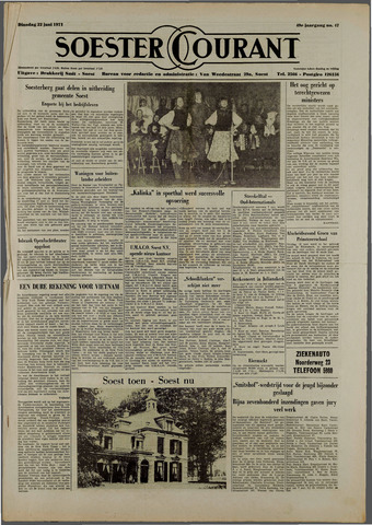 Soester Courant 1971-06-22