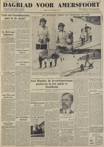 Dagblad voor Amersfoort 1949-02-14