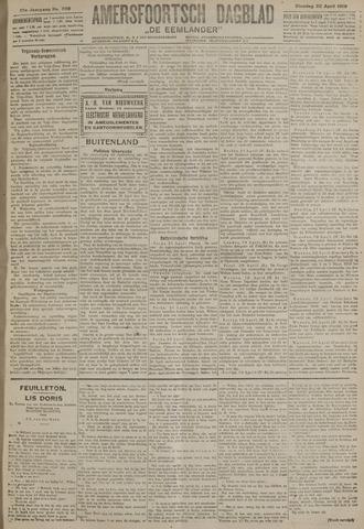 Amersfoortsch Dagblad / De Eemlander 1919-04-22