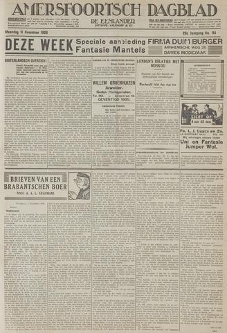 Amersfoortsch Dagblad / De Eemlander 1929-11-11
