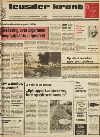Leusder Krant 1984-08-16