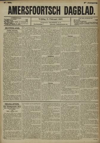 Amersfoortsch Dagblad 1907-02-15