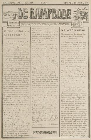 De Kampbode 1917-04-29