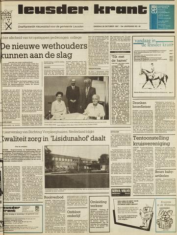 Leusder Krant 1987-10-20