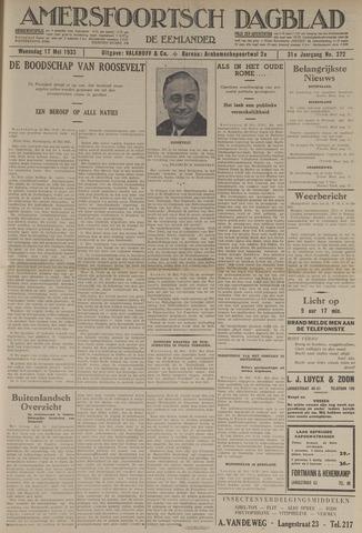 Amersfoortsch Dagblad / De Eemlander 1933-05-17