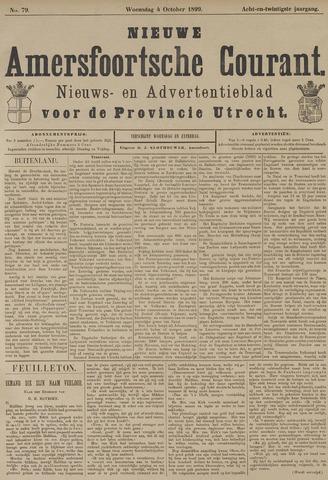 Nieuwe Amersfoortsche Courant 1899-10-04