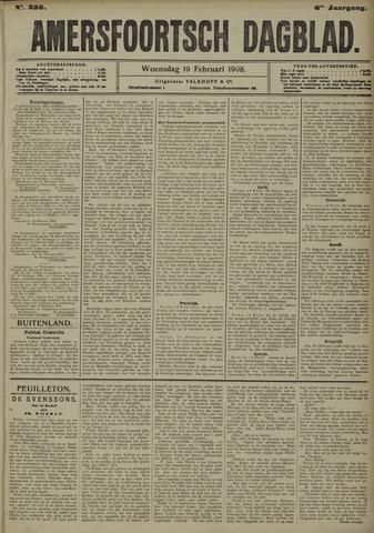 Amersfoortsch Dagblad 1908-02-19