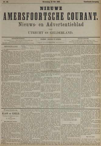 Nieuwe Amersfoortsche Courant 1885-05-20