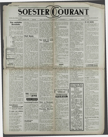 Soester Courant 1954-11-05