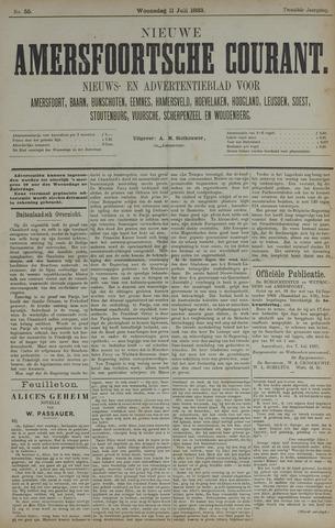 Nieuwe Amersfoortsche Courant 1883-07-11