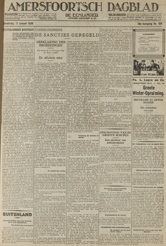Amersfoortsch Dagblad / De Eemlander 1930-01-16