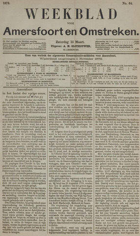 Weekblad voor Amersfoort en Omstreken 1873-03-15
