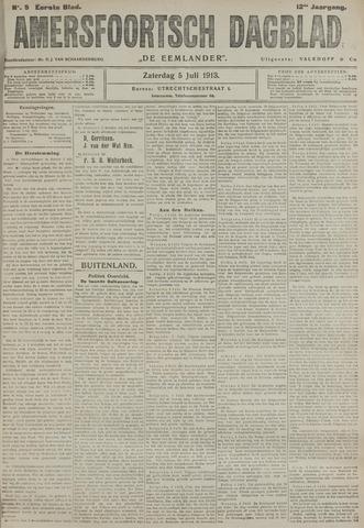 Amersfoortsch Dagblad / De Eemlander 1913-07-05
