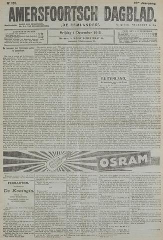 Amersfoortsch Dagblad / De Eemlander 1916-12-01