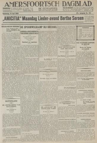 Amersfoortsch Dagblad / De Eemlander 1929-04-18