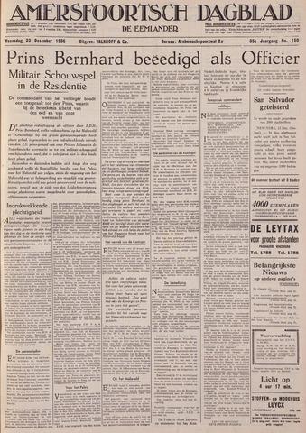 Amersfoortsch Dagblad / De Eemlander 1936-12-23