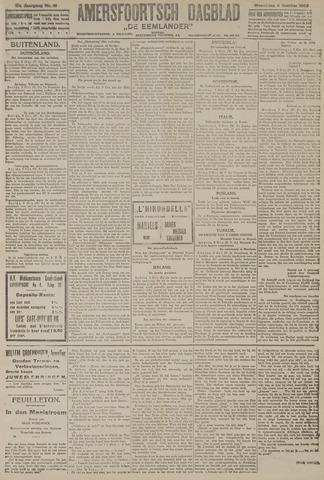 Amersfoortsch Dagblad / De Eemlander 1922-10-04