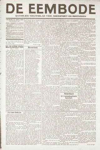 De Eembode 1920-04-27