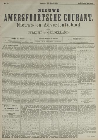 Nieuwe Amersfoortsche Courant 1889-03-30