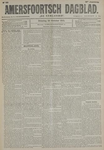 Amersfoortsch Dagblad / De Eemlander 1915-10-26