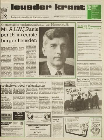 Leusder Krant 1987-06-25